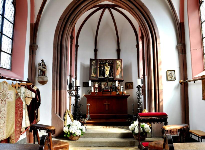 ライヘンシュタイン城礼拝堂