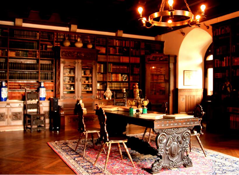 ライヘンシュタイン城図書館