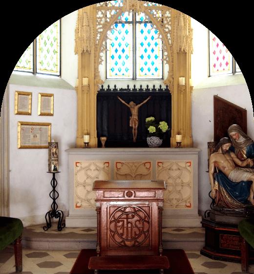 ラインシュタイン城礼拝堂